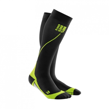 CEP Run Socks Black Green
