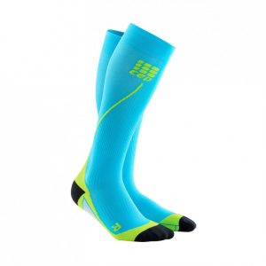 CEP Run Socks Hawaii Blue Green